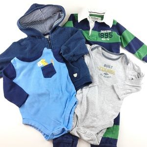 4 Piece Baby Boy Clothing Bundle